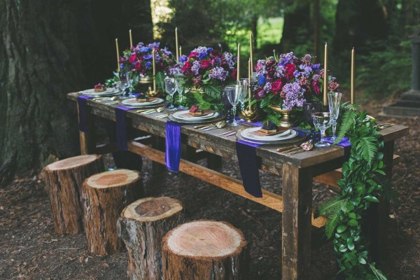 FAIRYTALE JEWEL-TONED WEDDING INSPIRATION